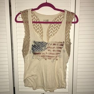Free people USA graphic tee